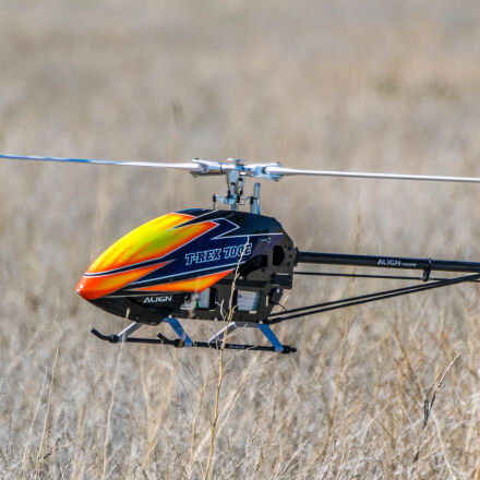 drone, field, grass, helicopter, Nikon D5300