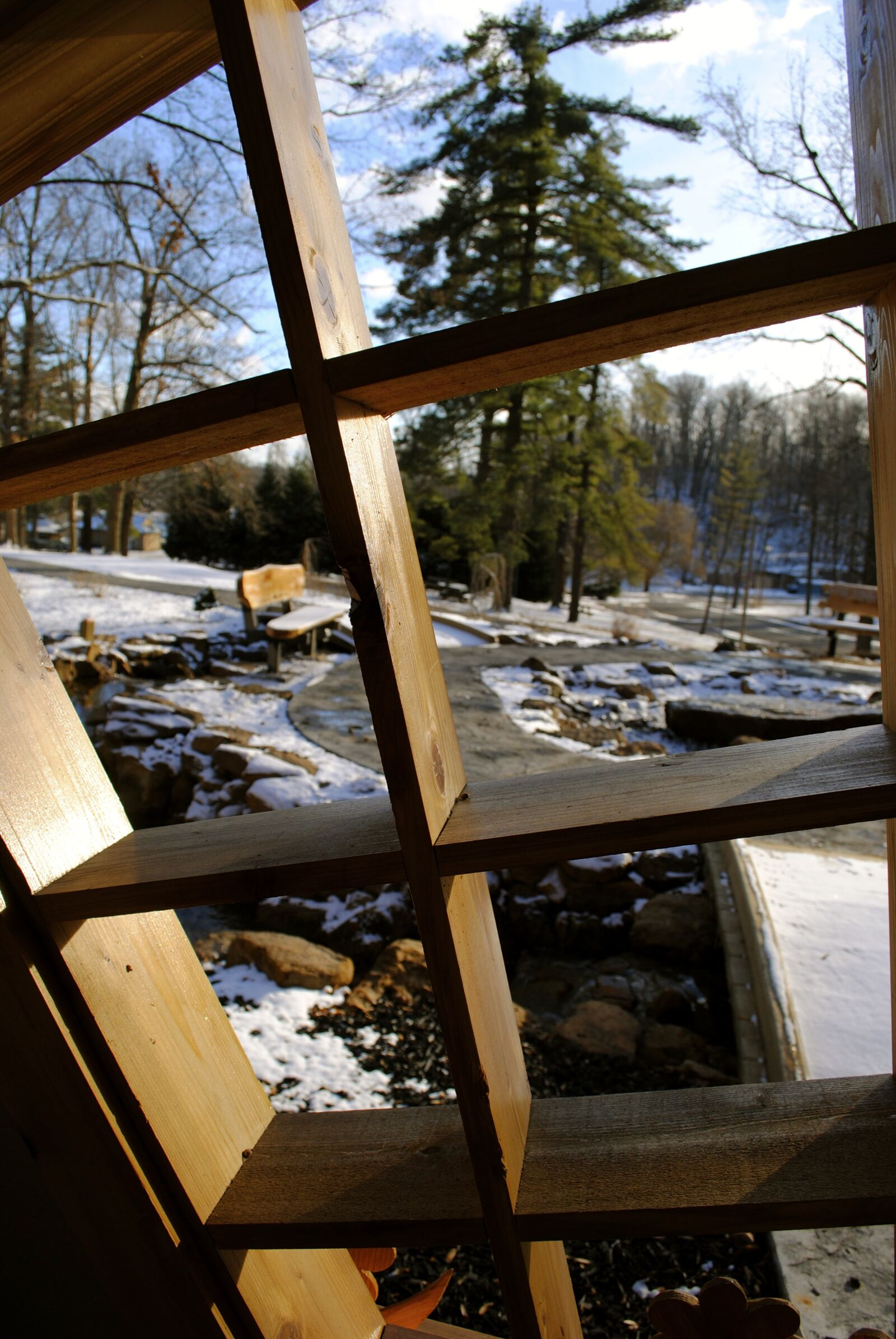 "Nikon D3000 sample photo. ""Winter, snow, frame"" photography"