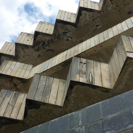 gagra, devastation, abkhazia, Panasonic DMC-FT5