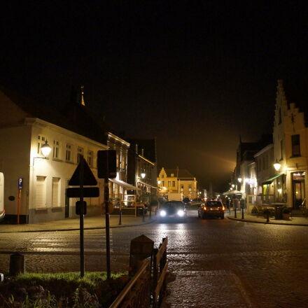 small, town, Sony NEX-5N