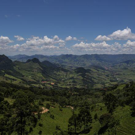 mountains, landscape, trees, Canon EOS 6D