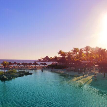 beach, mexico, ocean, rivieramaya, Canon EOS REBEL T5I