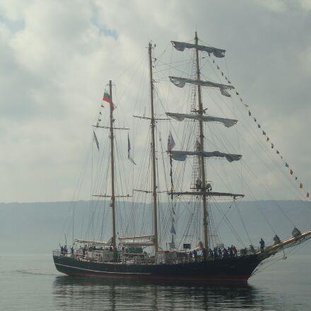 black sea, ship, port, Sony DSC-W120