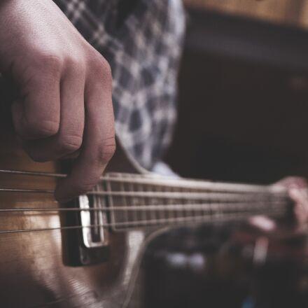 guitar, guitarist, hand, Panasonic DMC-GM1