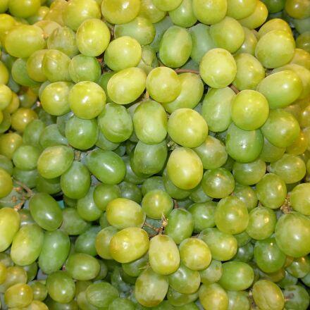 grapes, green, fruit, Nikon COOLPIX L5