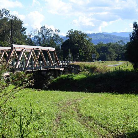 bridge, spring, road, Nikon 1 J5