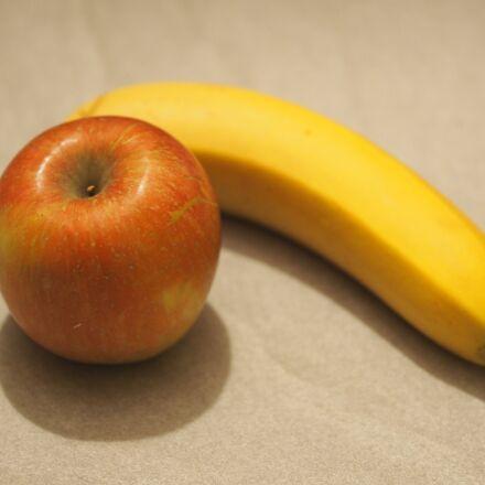 apple, fruit, red, Olympus E-M10MarkII