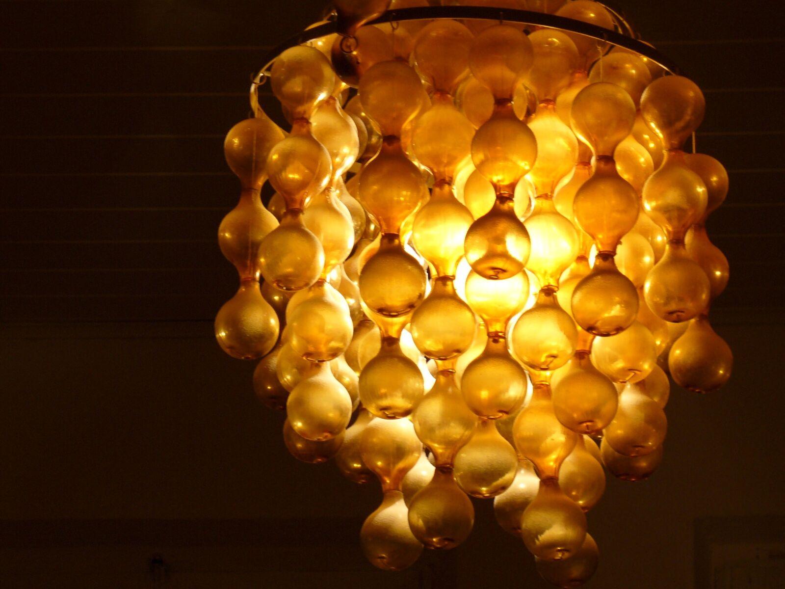 "Panasonic DMC-LZ1 sample photo. ""Lamp, chandelier, light"" photography"
