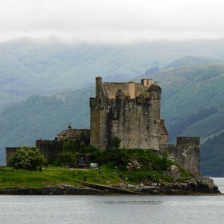 eilean donan, castle, scotland, Panasonic DMC-TZ40