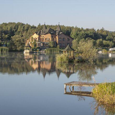 pond, reflection, shepil's'ka, Canon EOS 5D
