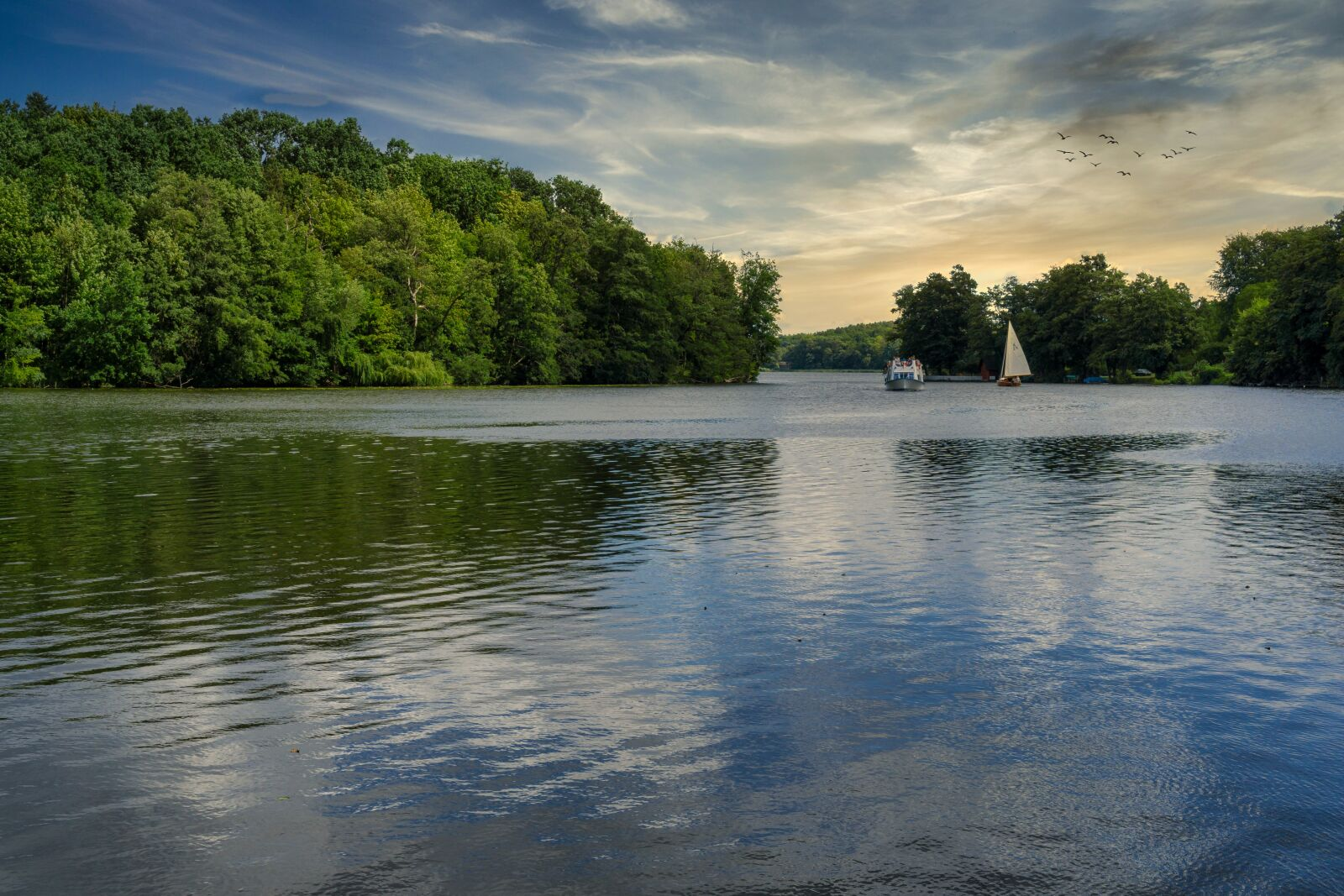 "Sony a6000 sample photo. ""Lake, stadtsee, templin"" photography"