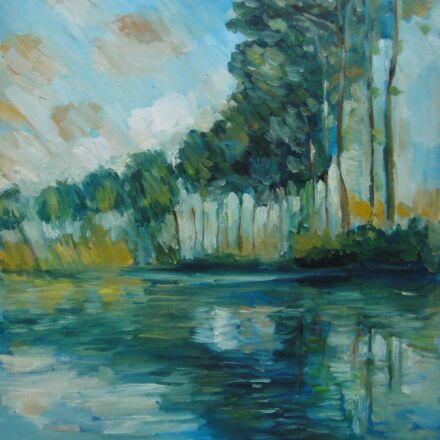 oil painting, still life, Sony DSC-TX5