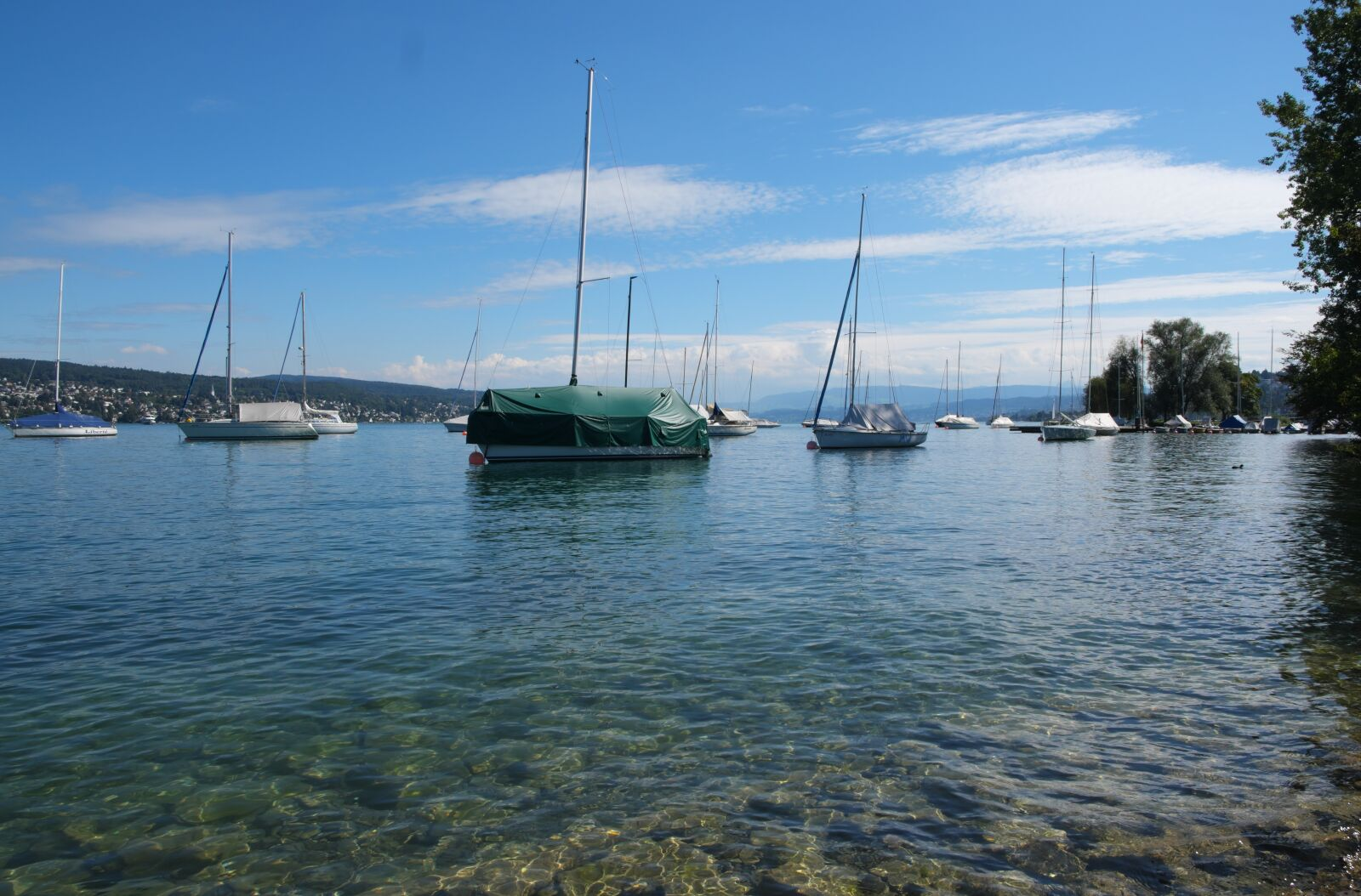 "Fujifilm X-E1 sample photo. ""Zurich, lake, holidays"" photography"