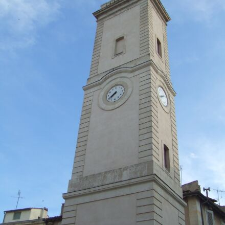 tower, clock, high building, Fujifilm FinePix Z1