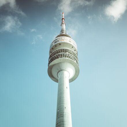 architecture, blue sky, city, Fujifilm X-Pro1