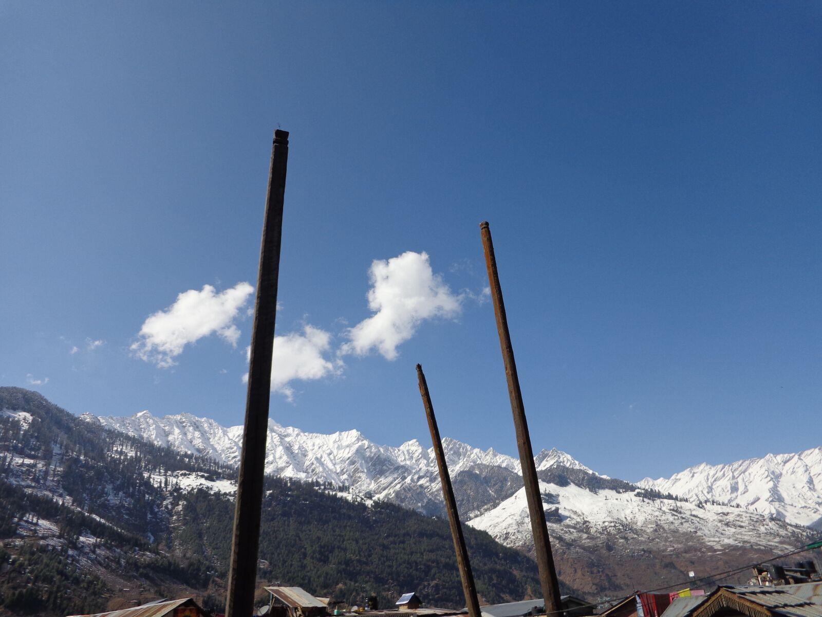 "Sony DSC-W690 sample photo. ""Mountains, manali, landscape"" photography"