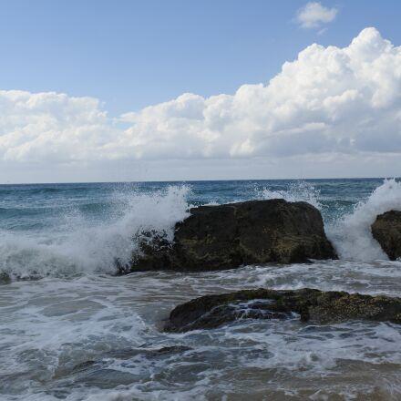 beach, ocean, waves, Nikon 1 J5