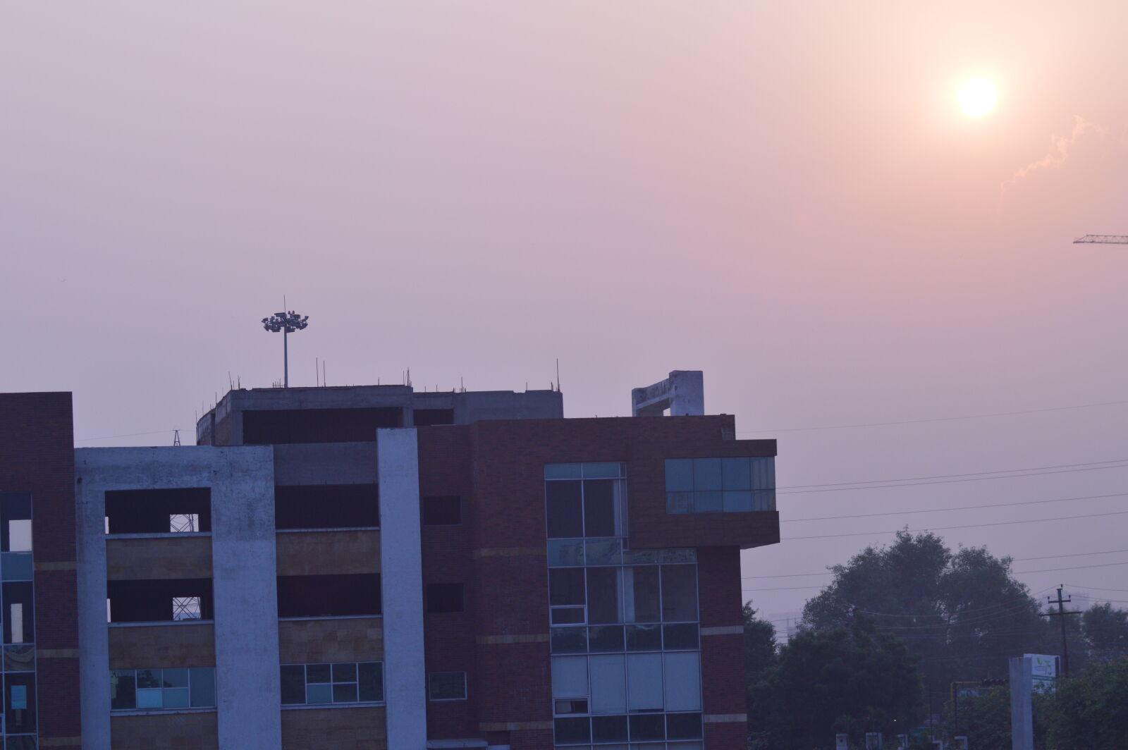 """Nikon D3200 sample photo. """"Building, sunset"""" photography"""