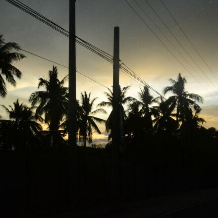 night, roadtrip, silhouette, summer, Nikon D3100