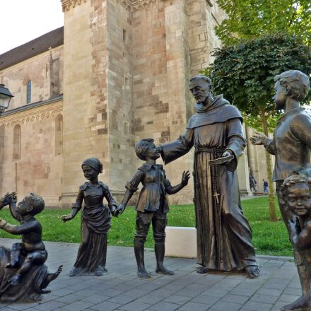 priest, children, kids, Panasonic DMC-TZ6