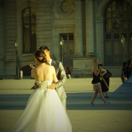 wedding, louvre, france, Fujifilm FinePix HS55EXR