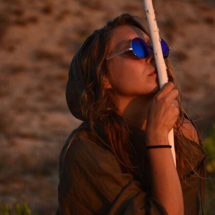 desert, girl, model, posing, Nikon D7100