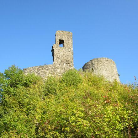 tower ruin, lapsed, building, Canon IXUS 220 HS