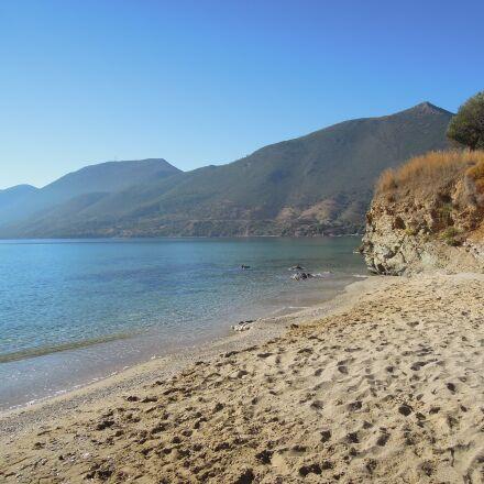 nature, seashore, water, Nikon COOLPIX P300