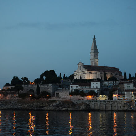 architecture, church, croatia, evening, Nikon D7000