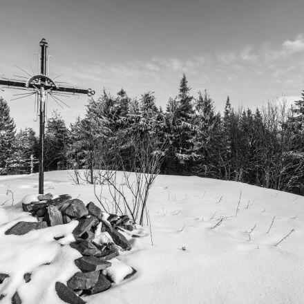 cross, jesus, hill, Fujifilm X-T1