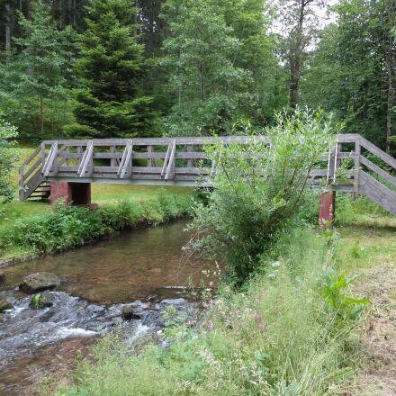 bridge, river, water, Sony DSC-WX150