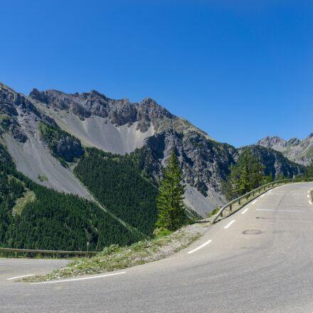 alpine, road, landscape, Sony ILCE-6000