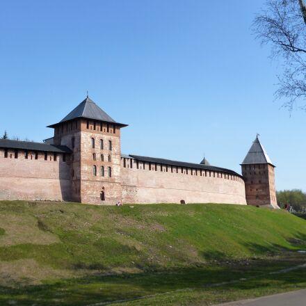 veliky novgorod, fortress, wall, Panasonic DMC-FS16