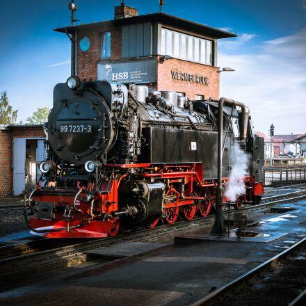 locomotive, loco, steam locomotive, Samsung NX300M