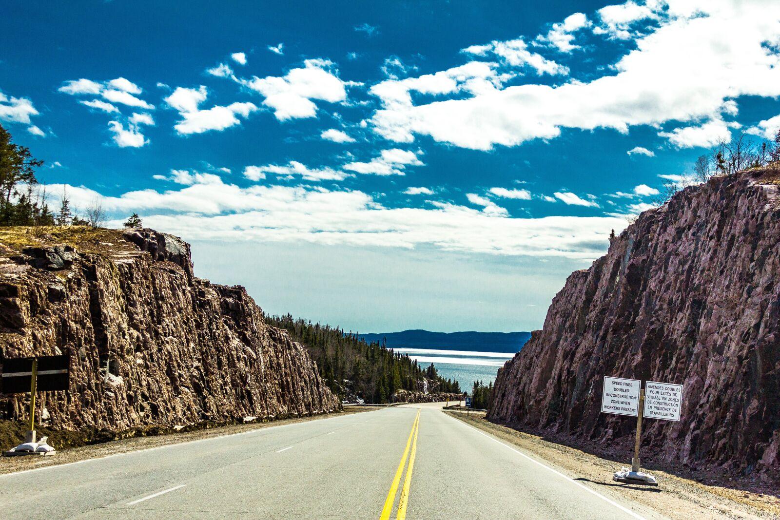 "Canon EOS 60D sample photo. ""Roadtrip, hills, fields"" photography"