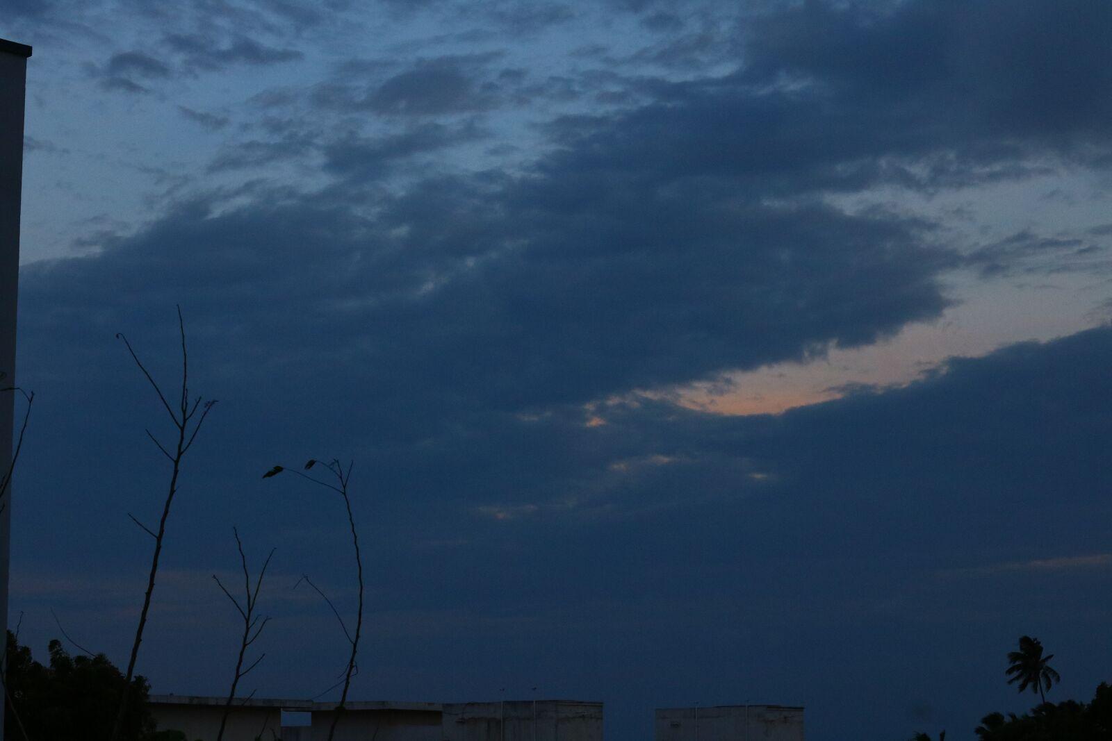 "Canon EOS 760D (EOS Rebel T6s / EOS 8000D) sample photo. ""Evening, sky, blue"" photography"