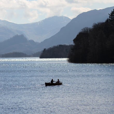 clouds, derwent, mountains, rowing, Canon EOS 7D