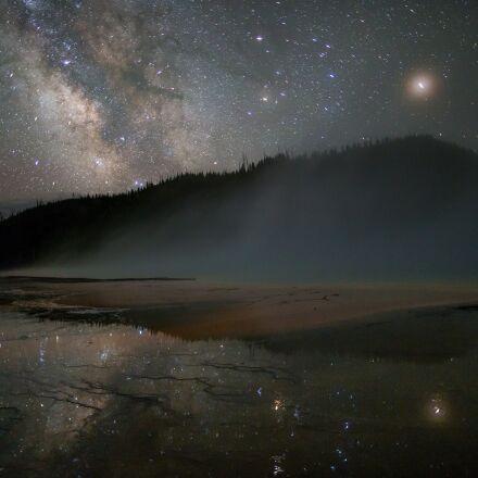 milky way, stars, sky, Canon EOS 5D MARK III