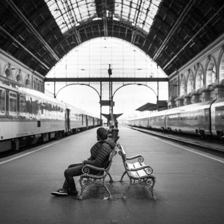train station, adult, city, Canon EOS 6D