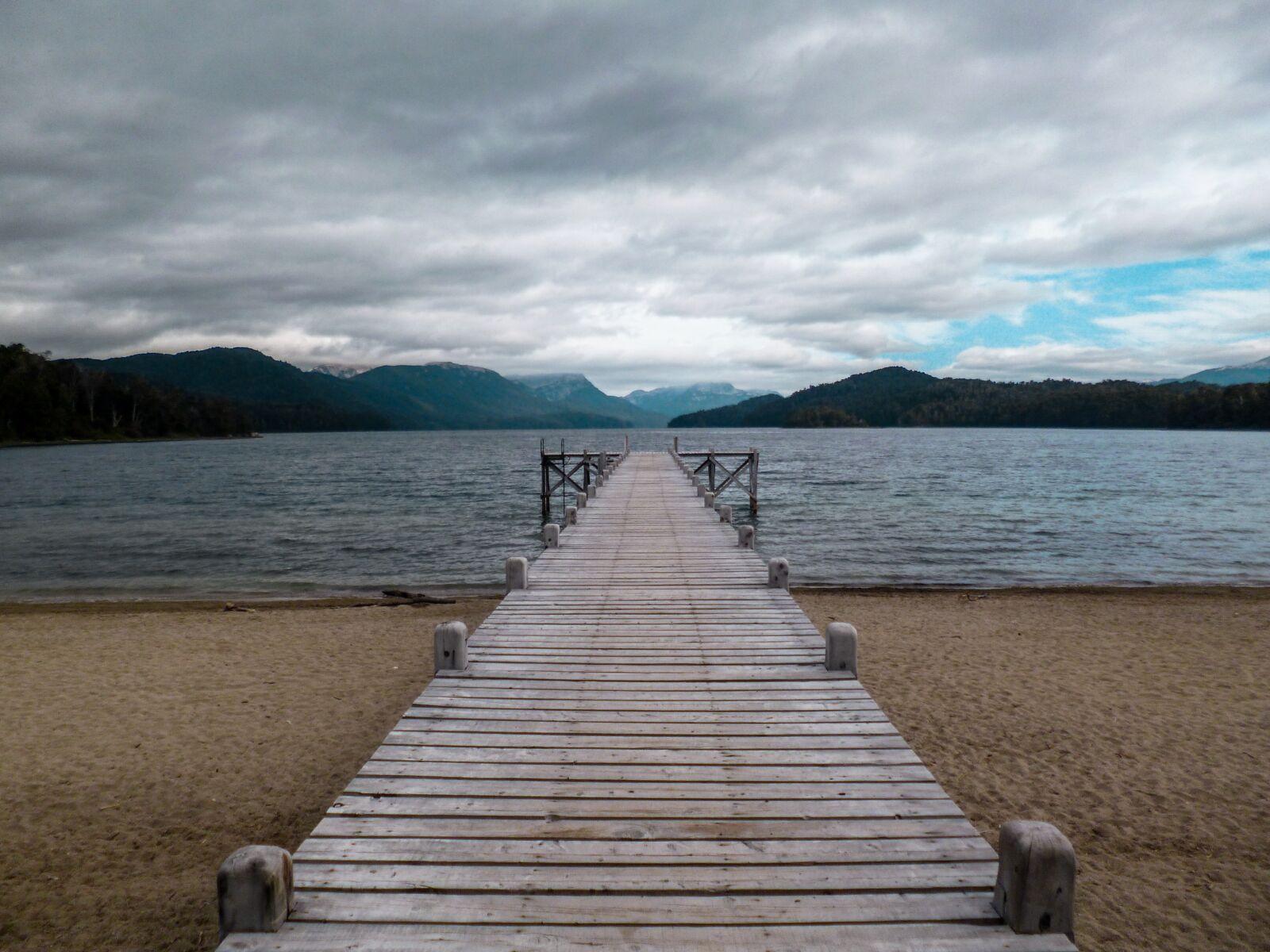 spring, mountain, lake