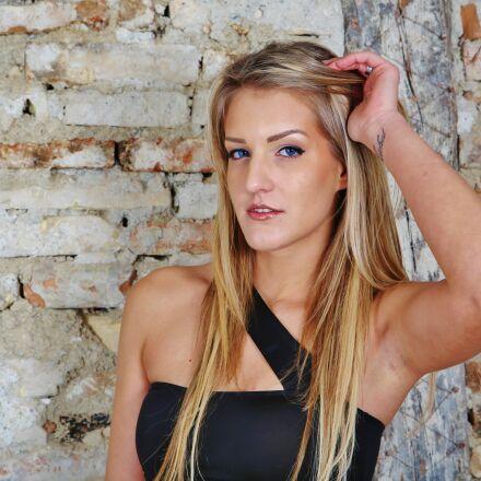 girl, model, blond, Canon EOS 6D