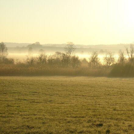 landscape, nature, fog, Sony DSC-V3