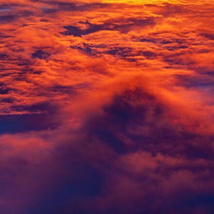 clouds, cloudy, dawn, Canon EOS 5D MARK II