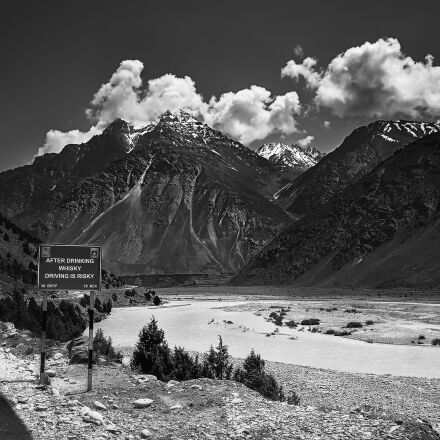 mountains, road, travel, Panasonic DMC-GF2