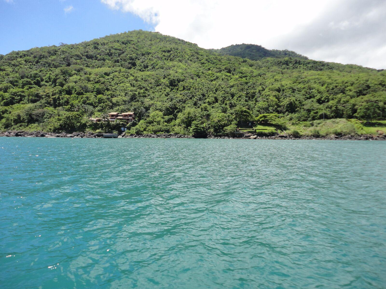 "Sony DSC-W350 sample photo. ""Mar, island, ocean"" photography"
