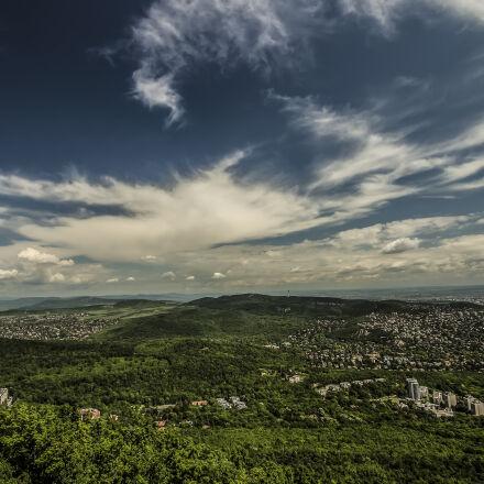city, landscape, nature, sky, Canon EOS 700D