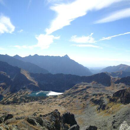mountains, tatry, panorama, Sony DSC-WX300