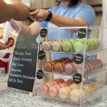 assorted, business, desserts, display, Nikon D90