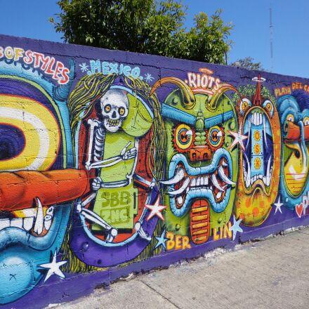 graffiti, wall, color, Sony DSC-W630