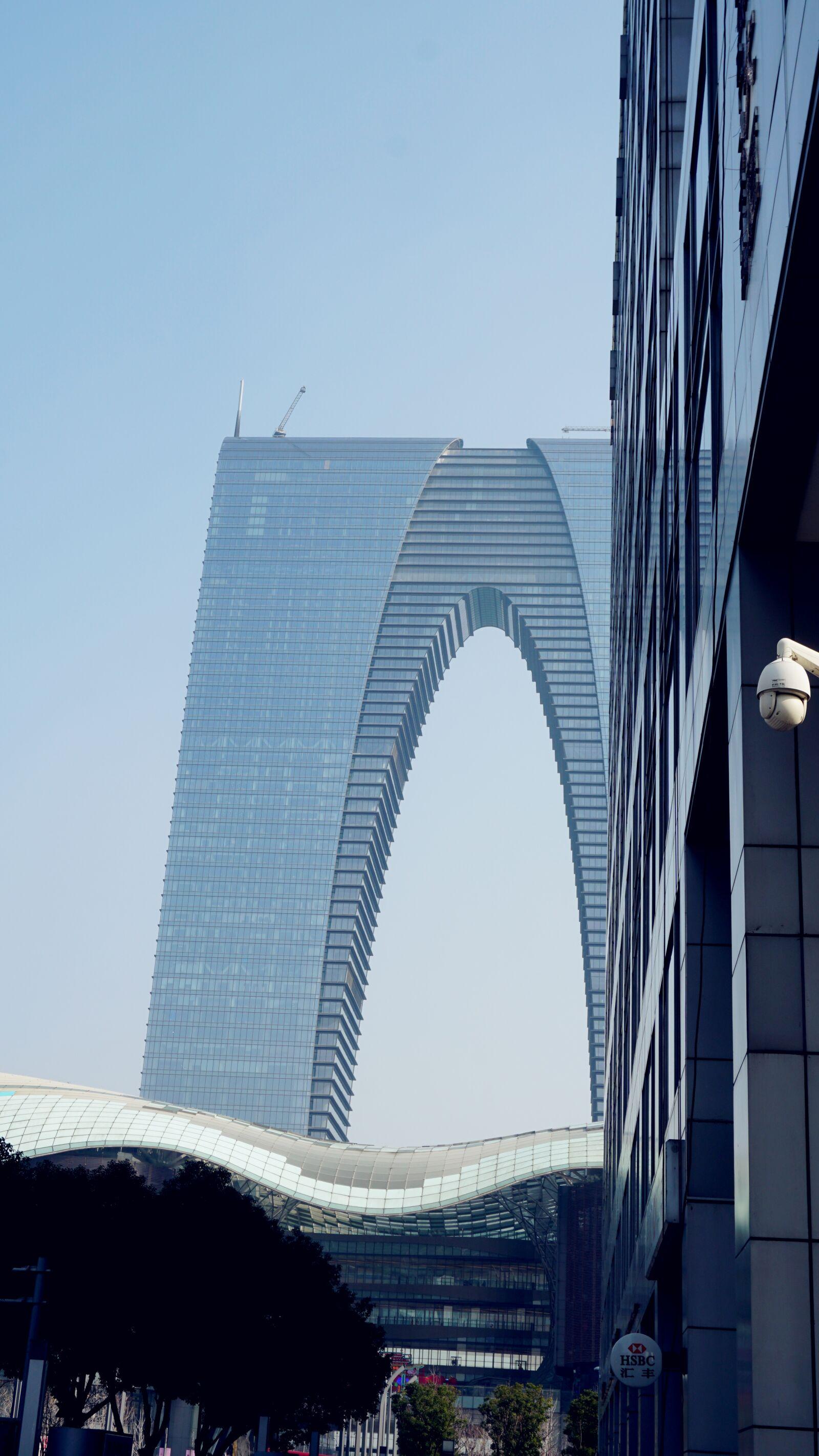 "Sony a6300 sample photo. ""Suzhou, orient the door"" photography"